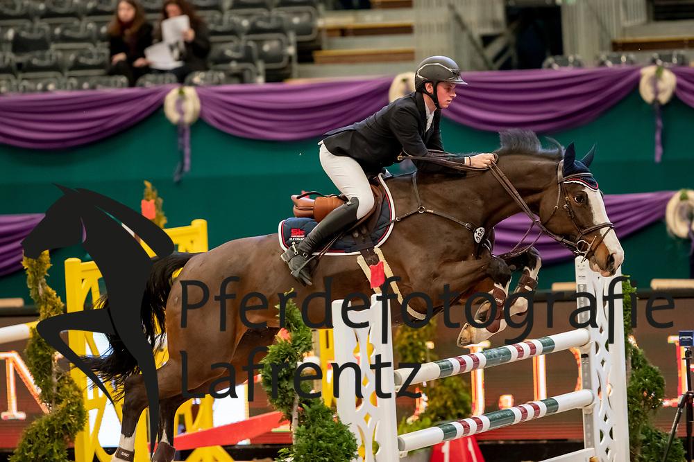 FLÜCKEN Gerrit (GER), Canberra<br /> Leipzig - Partner Pferd 2019<br /> SPOOKS-Amateur Trophy<br /> Large Tour<br /> 17. Januar 2019<br /> © www.sportfotos-lafrentz.de/Stefan Lafrentz