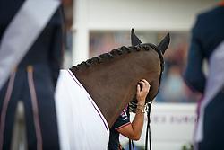 Podium GPS, 1 Dujardin Charlotte, (GBR), Valegro<br /> Grand Prix Special<br /> European Championships - Aachen 2015<br /> © Hippo Foto - Dirk Caremans<br /> 15/08/15