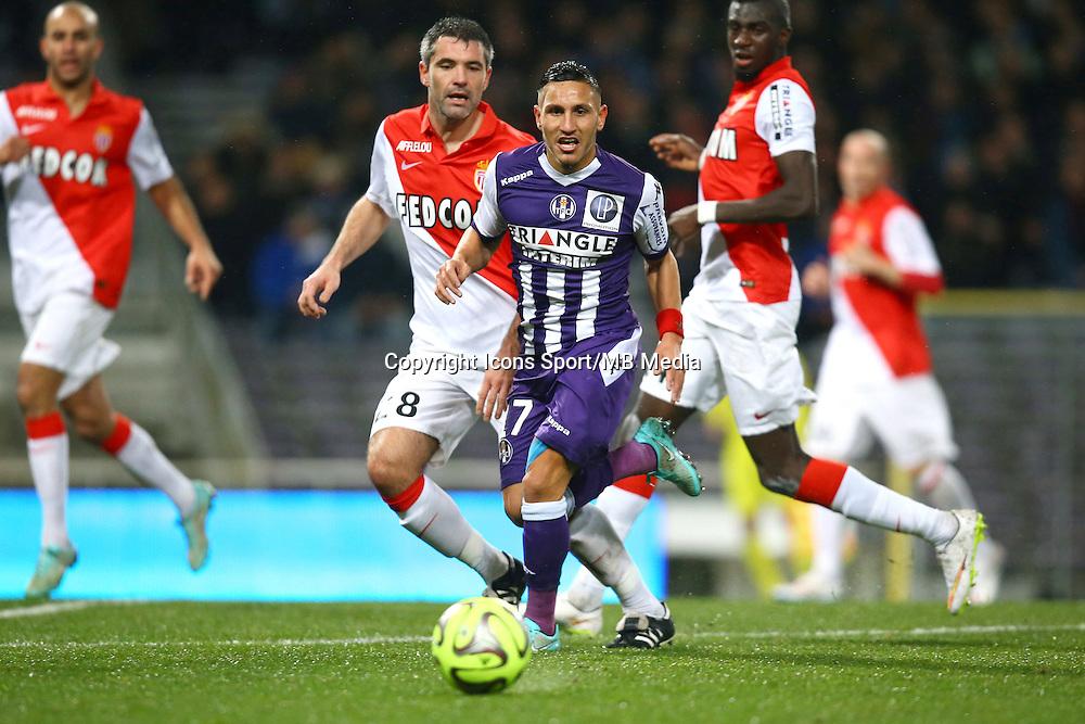 Adrien Regattin - 05.12.2014 - Toulouse / Monaco - 17e journee Ligue 1<br />Photo : Manuel Blondeau / Icon Sport