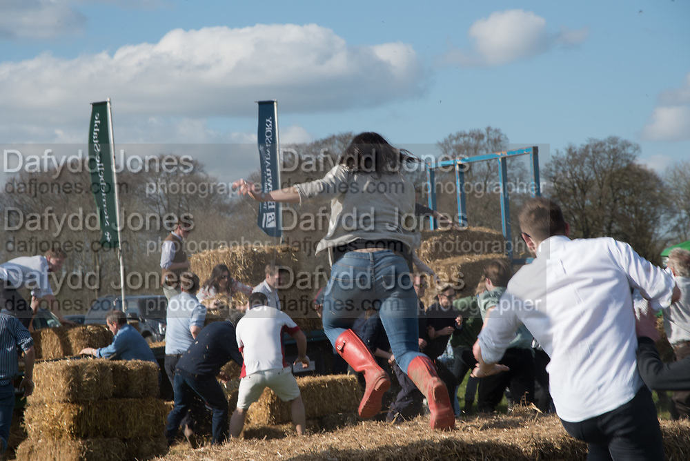 TOUGH FARMER JUNIOR CHALLENGE, Heythrop Point to Point, Cocklebarrow, 2 April 2017.