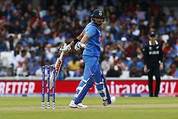 May 25, 2019 - London, England, United Kingdom - Virat Kohli of India .during ICC World Cup - Warm - Up between India and New Zealand at the Oval Stadium , London,  on 25 May 2019.Credit Action Foto Spor  (Credit Image: © Action Foto Sport/NurPhoto via ZUMA Press)