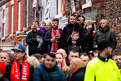 Liverpool fans wait for their side's team bus to arrive at Anfield - Mandatory by-line: Robbie Stephenson/JMP - 07/05/2019 - FOOTBALL - Anfield - Liverpool, England - Liverpool v Barcelona - UEFA Champions League Semi-Final 2nd Leg