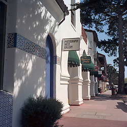 Carmel, California town scenes and galleries