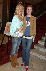 Left to right, sisters POPPY DELEVINGNE and CHLOE DELEVINGNE at a fashion show featuring the Miss Selfridge Autumn/Winter '05 collections held at The Wallace Collection, Manchester Square, London W1 on 6th April 2005.<br /><br />NON EXCLUSIVE - WORLD RIGHTS