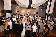 Danielle Diaz Weds Felix Mendez in a ceremony performed in Columbia, PA. The wedding reception was held at The Mulberry Art Studio in Lancaster, PA.