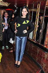 LEIGH LEZARK at the JW Anderson Top Shop Party held at Madame Jojo's, 8-10 Brewer Street, London W1 on 17th September 2012.