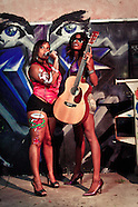 Guitar & Body Paint - Niqui McNeal & Friend