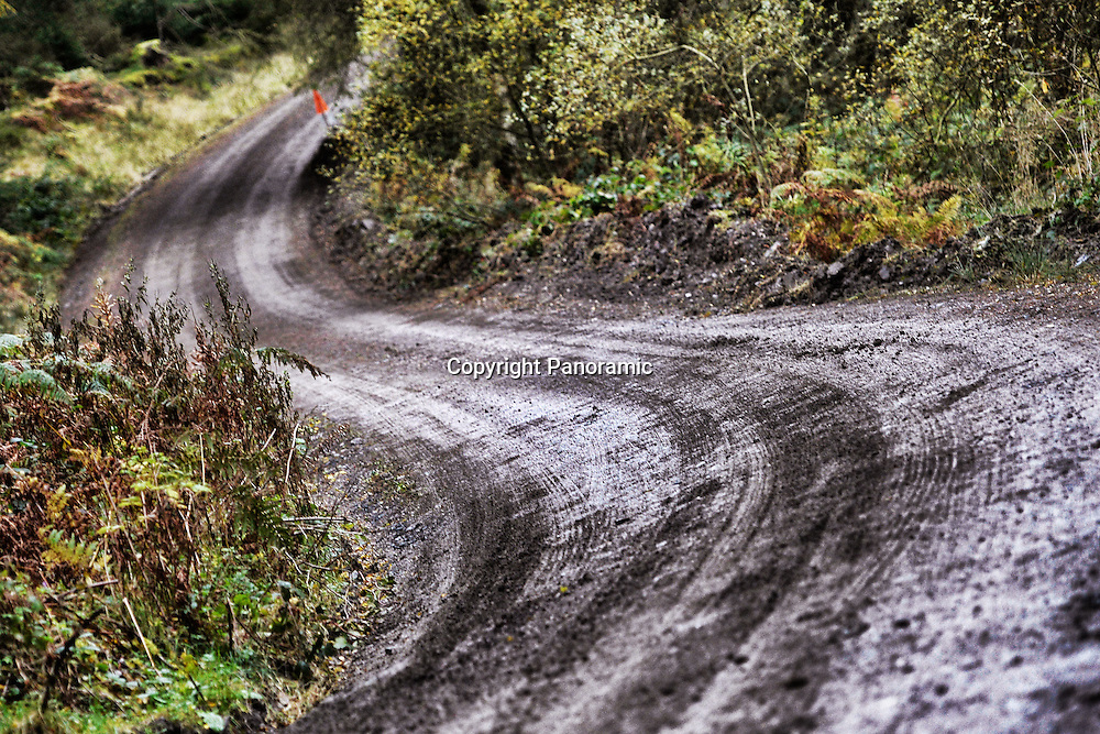 AMBIANCE route rallye pays galles illustration