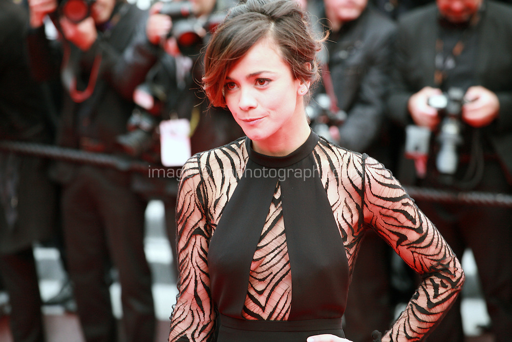 Alice Braga at the Foxcatcher gala screening red carpet at the 67th Cannes Film Festival France. Monday 19th May 2014 in Cannes Film Festival, France.