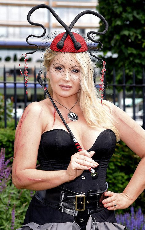 Victoria Eisermann attends Royal Ascot Ladies Day at Ascot Racecourse, Ascot, Berkshire on Thursday 18 June 2015