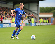 Joe Ralls of Cardiff City during the Sky Bet Championship match at the Pirelli Stadium, Burton upon Trent<br /> Picture by Mike Griffiths/Focus Images Ltd +44 7766 223933<br /> 05/08/2017