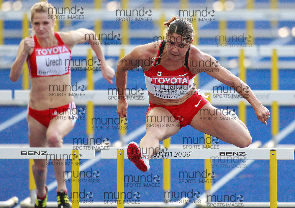 Berlin 2009 World Championships - August 18 -Day 4 - Evening *** Local Caption *** Priscilla Lopes-Schliep - 100H Canada