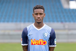 07.07.2015, Rewirpower Stadion, Bochum, GER, 2. FBL, VfL Bochum, Fototermin, im Bild Giliano Wijnaldum (Bochum) // during the official Team and Portrait Photoshoot of German 2nd Bundesliga Club VfL Bochum at the Rewirpower Stadion in Bochum, Germany on 2015/07/07. EXPA Pictures &copy; 2015, PhotoCredit: EXPA/ Eibner-Pressefoto/ Hommes<br /> <br /> *****ATTENTION - OUT of GER*****