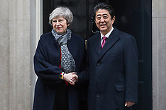 2019-01-10 Shinzo Abe visits Theresa May