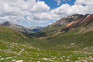 Alpine landscape in Lincoln Creek Drainage near Aspen, CO