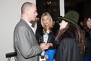 DINOS CHAPMAN; KIM HERSOV; ROBERTA HANLEY, Mandala for Crusoe, Exhibition of work by Francesco Clemente. Blain/Southern. Hanover Sq. London. 29 November 2012