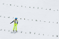 Miha Kveder during testing jumps at Ski jumping Flying Hill One day before FIS World Cup Ski Jumping Final Planica 2018, on March 21, 2018 in Ratece, Planica, Slovenia. Photo by Urban Urbanc / Sportida