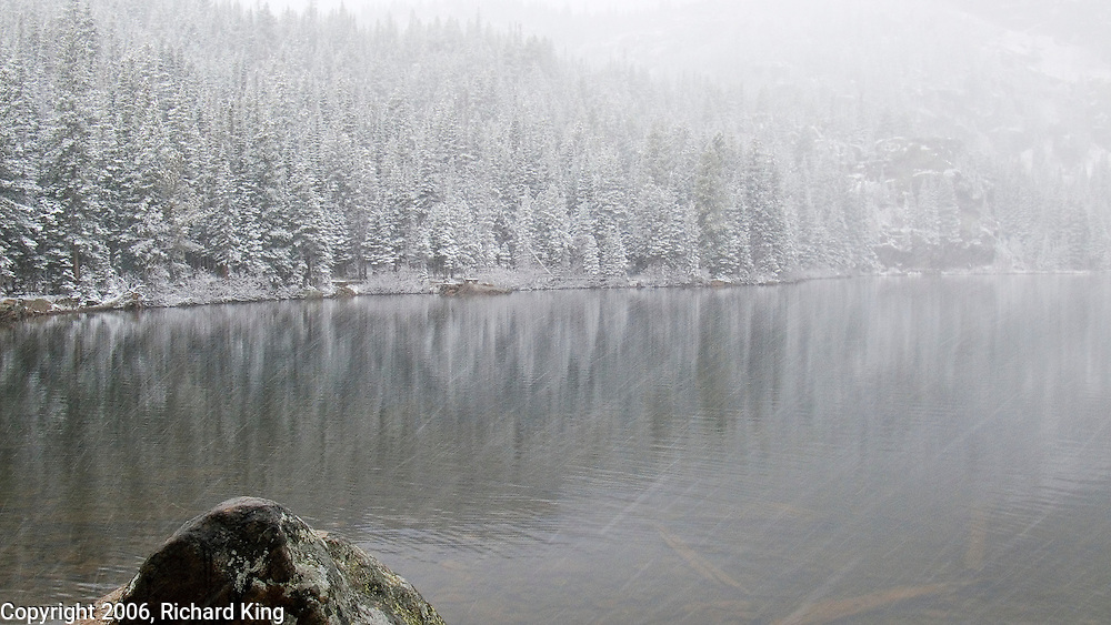 Snow Storm, Bear Lake, Rocky Mountain National Park