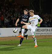 Stephen McGinn and Stuart Armstrong  - Dundee v Celtic - SPFL Premiership at Dens Park<br /> <br /> <br />  - &copy; David Young - www.davidyoungphoto.co.uk - email: davidyoungphoto@gmail.com
