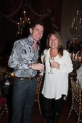 PETER CHIVERS; TINA WILLIAM, Eva Harold birthday party. Ballroom, Beach Blanket Babylon. Notting Hill, London. 19 November 2012.