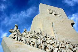 PORTUGAL BELEM 9OCT06 - Monumento dos Descobrimentos, erected in 1960 to commemorate the five hundredth anniversary of the death of Henry the Navigator. Henry appears on the prow with Camoes and other Portuguese heroes...jre/Photo by Jiri Rezac..© Jiri Rezac 2006..Contact: +44 (0) 7050 110 417.Mobile:  +44 (0) 7801 337 683.Office:  +44 (0) 20 8968 9635..Email:   jiri@jirirezac.com.Web:    www.jirirezac.com..© All images Jiri Rezac 2006 - All rights reserved.