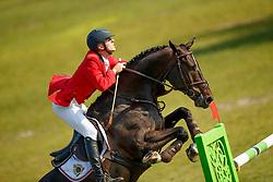 Hazebroek Mathias, BEL, Jurre<br /> European Championship Children, Juniors, Young Riders - Fontainebleau 1028<br /> © Hippo Foto - Monique de Smit<br /> Hazebroek Mathias, BEL, Jurre