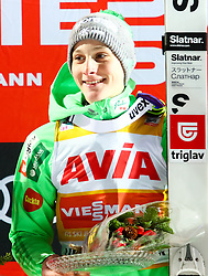 10.12.2016, Lysgards Schanze, Lillehammer, NOR, FIS Weltcup Ski Sprung, Lillehammer, im Bild Sieger Domen Prevc (SLO) // Winner Domen Prevc of Slovenia during Mens Skijumping of FIS Skijumping World Cup at the Lysgards Schanze in Lillehammer, Norway on 2016/12/10. EXPA Pictures © 2016, PhotoCredit: EXPA/ Tadeusz Mieczynski