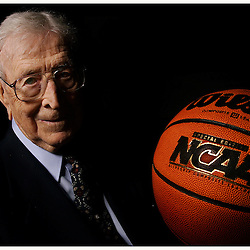 Hall of Fame UCLA basketball coach John Wooden spoke with <br /> inspirational speaker Andy Hill in the Wisdom For Life speaker <br /> series at Blair High School May 10. 2005.<br /> <br /> (SGVN Photo Keith Birmingham/SXCity)