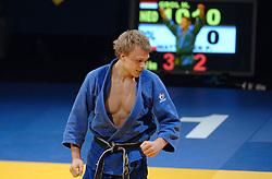 19-03-2006 JUDO: DUTCH OPEN: ROTTERDAM<br /> Henk Grol won in Rotterdam een bronzen medaille, in de klasse tot 90 kilo. Grol was met een ipon te sterk voor de Pool Przemyslaw Matyaszek / Henk Grol<br /> Copyrights: WWW.FOTOHOOGENDOORN.NL