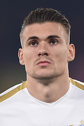 February 21, 2019 - Naples, Naples, Italy - Benjamin Kololli of FC Zurich during the UEFA Europa League Round of 32 Second Leg match between SSC Napoli and FC Zurich at Stadio San Paolo Naples Italy on 21 February 2019. (Credit Image: © Franco Romano/NurPhoto via ZUMA Press)