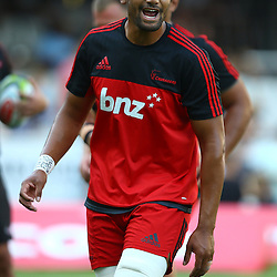DURBAN, SOUTH AFRICA - MARCH 26: Jimmy Tupou during the Super Rugby match between Cell C Sharks and BNZ Crusaders at Growthpoint Kings Park on March 26, 2016 in Durban, South Africa. (Photo by Steve Haag)<br /> <br /> images for social media must have consent from Steve Haag