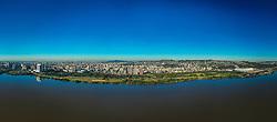 Porto Alegre, RS 08/07/2019: Foto panorâmica do terceiro trecho da Orla Moacyr Scliar que está em vias de receber obras de revitalização. Foto: Jefferson Bernardes/PMPA
