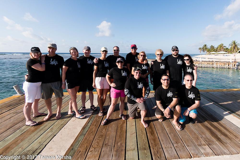 Treasure Cove Divers in Cayman Brac February 2017