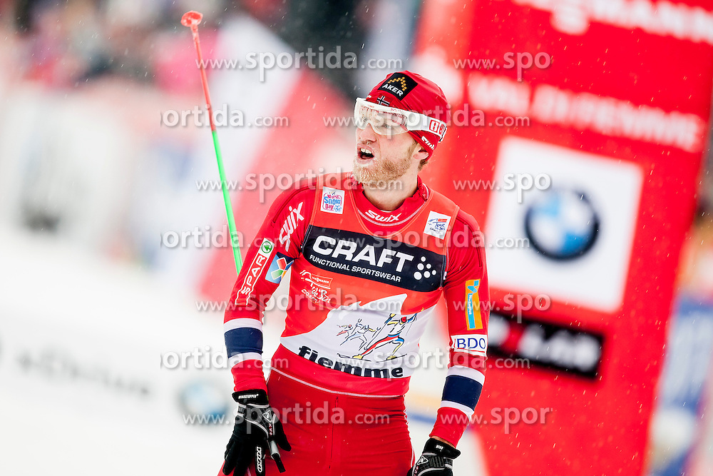 Martin Johnsrud Sundby of Noray during mens 10km Classic individual start of the Tour de Ski 2014 of the FIS cross country World cup on January 4th, 2014 in Cross Country Centre Lago di Tesero, Val di Fiemme, Italy. (Photo by Urban Urbanc / Sportida)