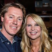 NLD/Amsterdam/20170508 - Lancering L'HOMO, Linda de Mol en partner Jeroen Rietbergen