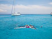 Floaters, Emerald Bay, Greece