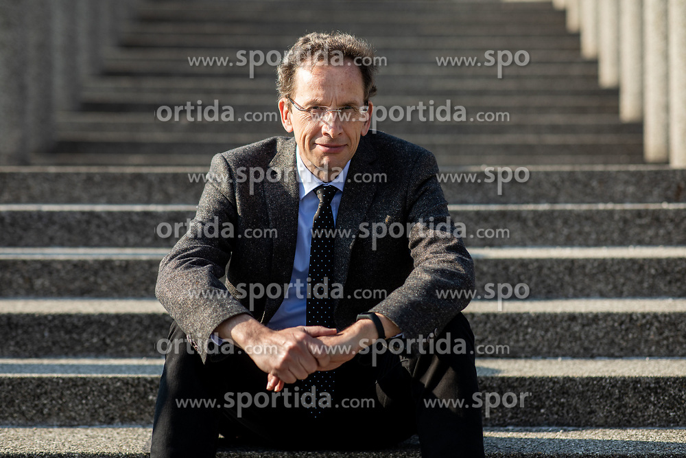 Prof. dr. Ziga Turk, slovenski informatik in politik -  portret, April 1, 2019, Ljubljana, Slovenija. Photo by Vid Ponikvar / Sportida