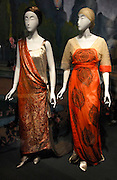 The Poiret: King of Fashion Exhibit is displayed at the Metropolitan Museum of Art's Costume Institute on the Upper East Side Monday, May 7, 2007 in New York.