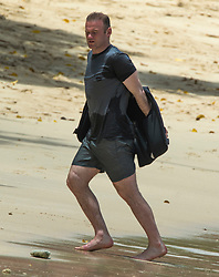 EXCLUSIVE: Wayne Rooney and family are spotted on the beach in Barbados. 26 May 2017 Pictured: Wayne and Coleen Rooney. Photo credit: Chris Brandis-Islandpaps.com/MEGA TheMegaAgency.com +1 888 505 6342