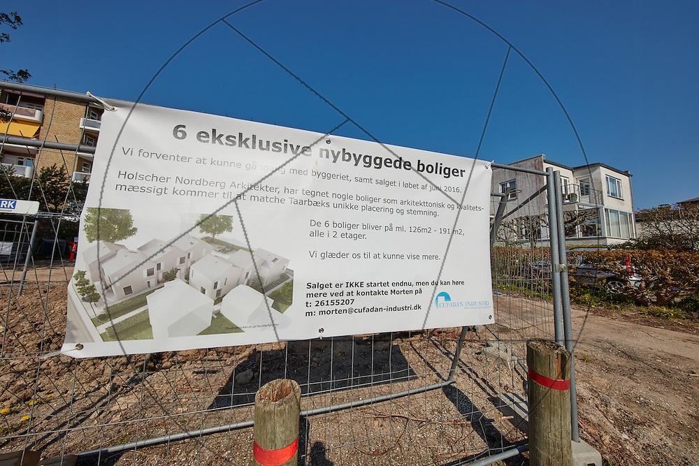 Taarbæk Strandvej, 6 eksklusive nybyggede lejligheder, Nybyg, Fundament, byggegrubbe, REAL Projects,