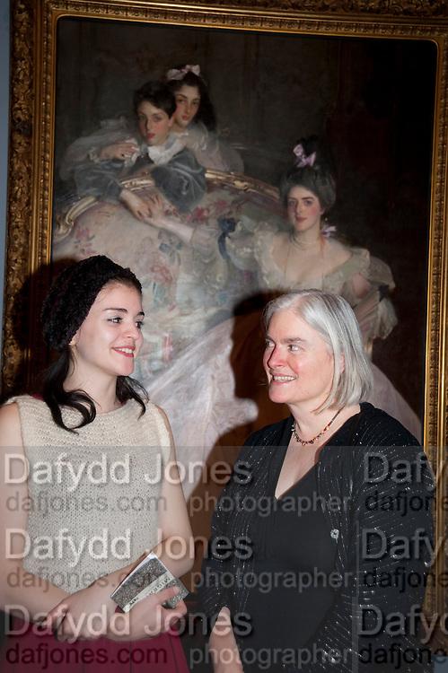 SIENNA MURDOCH; TESSA MURDOCH Mrs. Carl Meyer and her Children. John Singer Sargent  Migrations private view, Tate Britain. London. 30 January 2012.