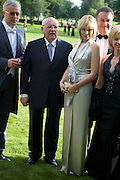 ALEXANDER LEBEDEV, MIKHAIL GORBECHEV AND ANASTASIA VIRGANSKAYA. Raisa Gorbachev Foundation Party, at the Stud House, Hampton Court Palace on June 7, 2008 in Richmond upon Thames, London,Event hosted by Geordie Greig and is in aid of the Raisa Gorbachev Foundation - an international fund fighting child cancer.  7 June 2008.  *** Local Caption *** -DO NOT ARCHIVE-© Copyright Photograph by Dafydd Jones. 248 Clapham Rd. London SW9 0PZ. Tel 0207 820 0771. www.dafjones.com.