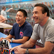 "Nate Quarry and Ming Chen are featured on ""Comic Book Men"" on AMC"