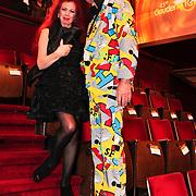 NLD/Amsterdam/20101022 - Televiziergala 2010, Penny de Jager en Ad Visser