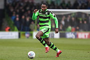 Forest Green Rovers Dale Bennett(2) runs forward during the EFL Sky Bet League 2 match between Forest Green Rovers and Mansfield Town at the New Lawn, Forest Green, United Kingdom on 24 March 2018. Picture by Shane Healey.