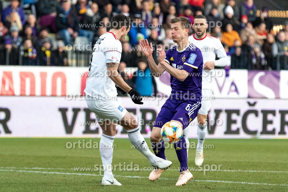during football match between NŠ Mura and NK Maribor in 20th Round of Prva liga Telekom Slovenije 2018/19, on February 23, 2019 in Ljudski Vrt, Maribor, Slovenia. Photo by Blaž Weindorfer / Sportida