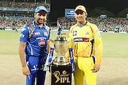 Pepsi IPL 2015 Final - Captains Trophy Shot