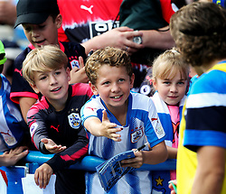 Young Huddersfield Town fans ask Michael Hefele for an autograph - Mandatory by-line: Matt McNulty/JMP - 26/08/2017 - FOOTBALL - The John Smith's Stadium - Huddersfield, England - Huddersfield Town v Southampton - Premier League