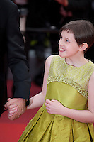 Actress Ruby Barnhill at the gala screening for the film The BFG at the 69th Cannes Film Festival, Saturday 14th May 2016, Cannes, France. Photography: Doreen Kennedy