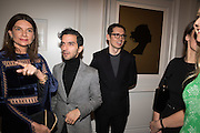 NATHALIE MASSENET; Imran Amed ; Erdem Moralioglu; Vogue100 A Century of Style. Hosted by Alexandra Shulman and Leon Max. National Portrait Gallery. London. WC2. 9 February 2016.
